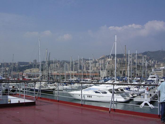 Hafen Genua