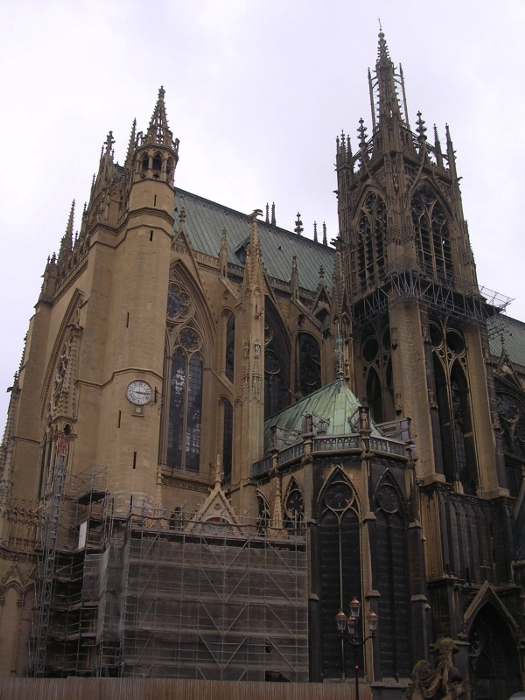 Die Kathedrale in Metz