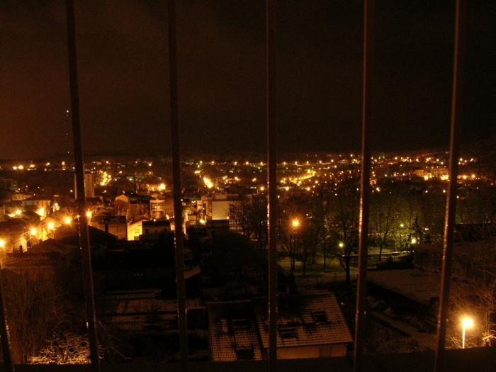 Nancy bei Nacht