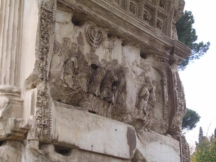 Darstellung der Tempelzerstörung